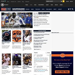 Chicago Bears NFL Football Front Page