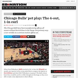 Chicago Bulls' pet play: The 4-out, 1-in curl