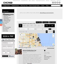 Chicago Events Calendar - Festivals, Plays, Concerts, Music, Shows, Exhibits