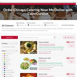 Chicago Catering Companies
