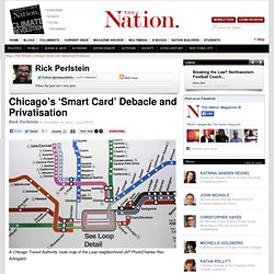 Chicago's 'Smart Card' Debacle and Privatisation