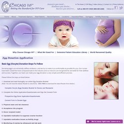 Chicago IVF Egg Donor Program