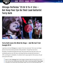 Chicago Performs '25 Or 6 To 4′ Live – But Keep Your Eye On Their Lead Guitarist Terry Kath