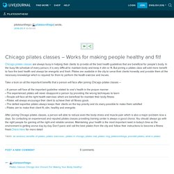 Chicago pilates classes – Works for making people healthy and fit!: pilatesonthego
