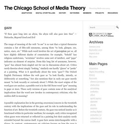 The Chicago School of Media Theory
