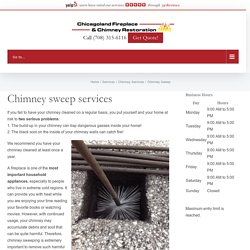 Chimney Sweep - Chicagoland Fireplace & Chimney Restoration