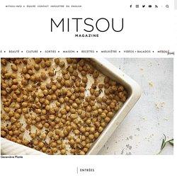 Pois chiches croustillants au citron et romarin – Mitsou Magazine