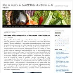 Salade de pois chiches épicés et légumes de Yotam Ottolenghi