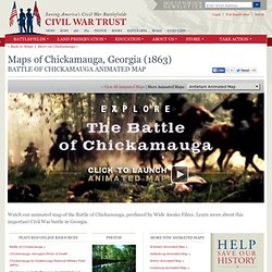 Chickamauga Animated Map