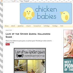 chicken babies: Lair of the Spider Queen: Halloween Game