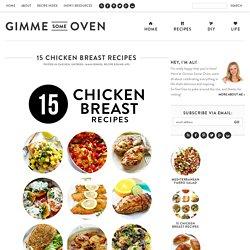 15 Chicken Breast Recipes