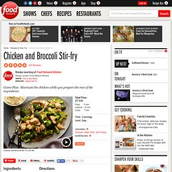 Chicken and Broccoli Stir-fry Recipe : Food Network Kitchens