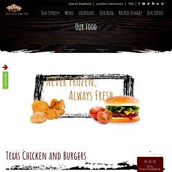 Texas Chicken and Burgers - Texas Chicken and Burgers is known for their scrumptious fried chicken and great variety of burgers