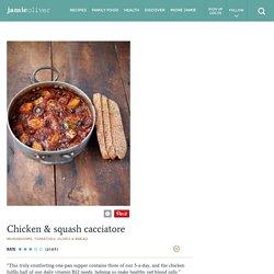 Sweet Potato & Chicken Cacciatore