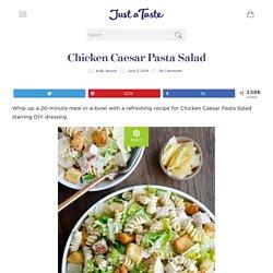Salade de pâtes Caesar