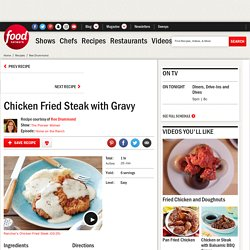 Chicken Fried Steak with Gravy Recipe