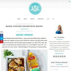 Baked Chicken Drumsticks Recipe - Cooking LSL