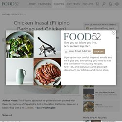 Chicken Inasal (Filipino Barbecued Chicken) Recipe on Food52