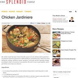 Chicken Jardiniere