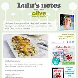 Chicken katsu curry - Lulu's notes