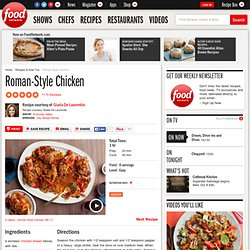 Roman-style Chicken Recipe : Giada De Laurentiis
