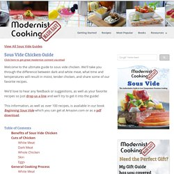 Sous Vide Chicken Guide - Modernist Cooking Made Easy