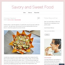 Savory and Sweet Food