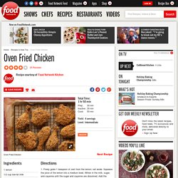 Oven Fried Chicken Recipe : Food Network Kitchens
