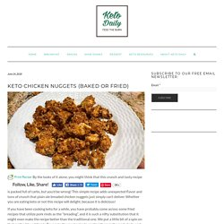 Chicken Nuggets (Baked or fried)