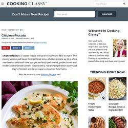 Chicken Piccata Recipe {Best Lemon Piccata Sauce}
