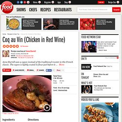 Coq au Vin (Chicken in Red Wine) Recipe : Anne Burrell