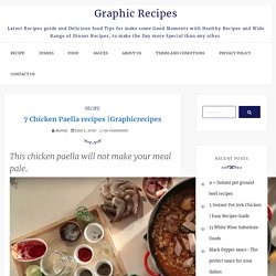 Graphicrecipes - Graphic Recipes