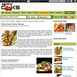 10 Best Indian Chicken Recipes
