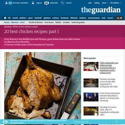 20 best chicken recipes: part 1