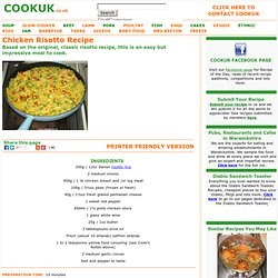 Chicken Risotto Recipe with pictures - CookUK Recipes