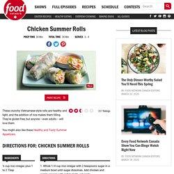 Chicken Summer Rolls Recipes