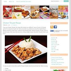 Chicken Teriyaki Recipe - Tasty Arbuz