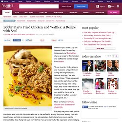 Bobby Flay's Fried Chicken and Waffles: A Recipe with Soul