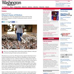 The Magazine - Obama's Game of Chicken