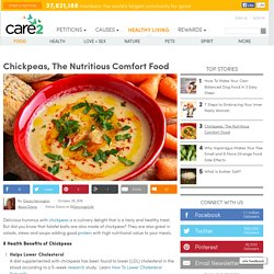 Chickpeas, The Nutritious Comfort Food