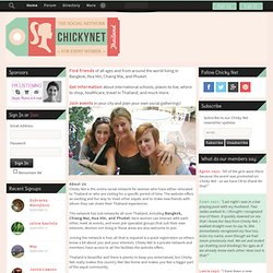 Chicky Net: Expat Women in Thailand - Chicky Net