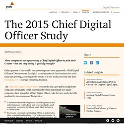 The 2015 Chief Digital Officer Study - PwC Digital Services