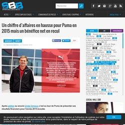 Un chiffre d'affaires en hausse pour Puma en 2015 mais un bénéfice net en recul