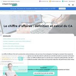 Le chiffre d'affaires : définition et calcul du CA