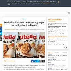 Le chiffre d'affaires de Ferrero grimpe, surtout grâce à la France