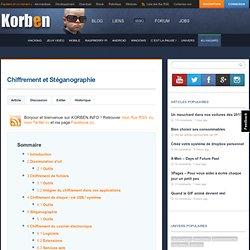 Chiffrement et Stéganographie « Korben
