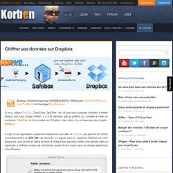 Chiffrer vos données sur Dropbox