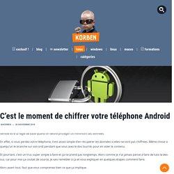 Chiffrer son téléphone Android