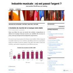 Industrie musicale : où est passé l'argent?