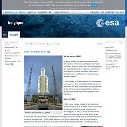 L'ESA : faits et chiffres / Belgium - Français
